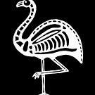 Skeletal Flamingo (reversed) by tmoriginals