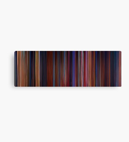 Moviebarcode: Beauty and the Beast (1991) Canvas Print