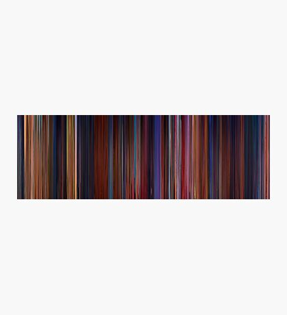 Moviebarcode: Beauty and the Beast (1991) Photographic Print