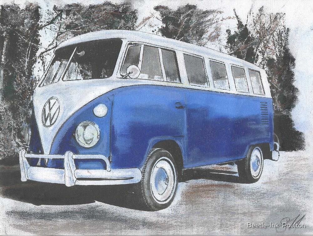 True Blue by Sharon Poulton