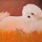 Portrait of My Shih Tzu Kuchi by Noel78