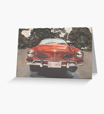 Coppered Up Greeting Card