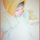 Baby colored pencil drawing by Noel78