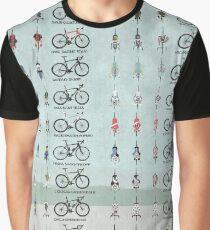 Pro Cycling Teams Graphic T-Shirt