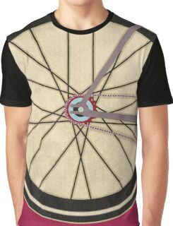 Single Speed Bicycle Graphic T-Shirt