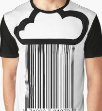 Barcode Cloud Graphic T-Shirt