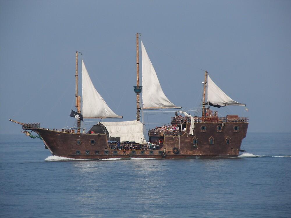 Perla Negra, the Pirate Ship - Puerto Vallarta, Mexico by PtoVallartaMex