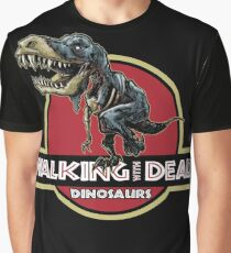 Walking With Dead Dinosaurs Graphic T-Shirt