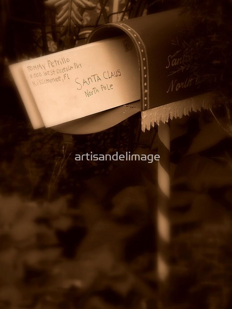 Letter To Santa by artisandelimage