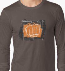 Hand punching Long Sleeve T-Shirt