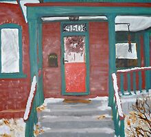 No. 9 of 100 SLC Porches by Jeanne Allgood