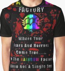 Rainbow Factory  Graphic T-Shirt