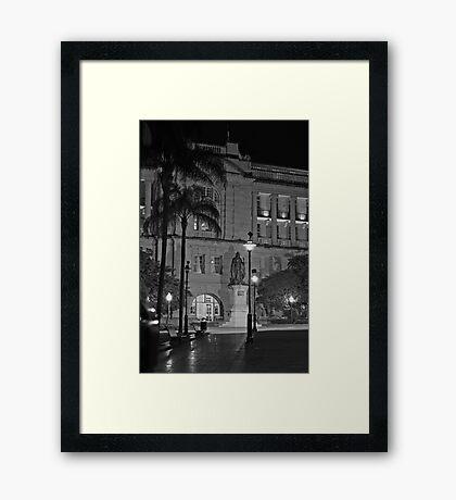 The Treasury Building Framed Print