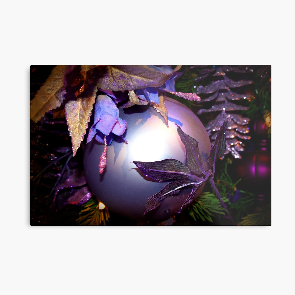 Purple Holiday  Metallbild