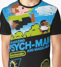 The Amazing Psych-Man!! (and Magic Head) Graphic T-Shirt