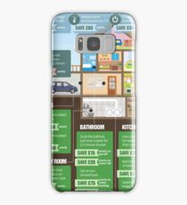 Save Energy Infographic Samsung Galaxy Case/Skin