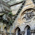 13 - CHURCH CARVINGS, GLASGOW, SCOTLAND by BLYTHPHOTO
