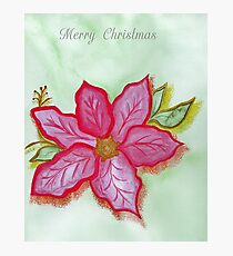 Christmas Brooch Photographic Print