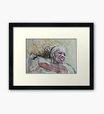 Serena Williams -2 Framed Print