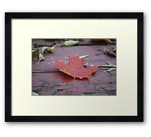 Autumn Hymn Framed Print