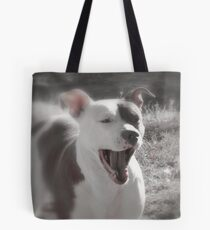Good Afternoon Yawn and Stretch....! Tote Bag
