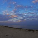 East Beach at Dusk by designerbecky
