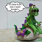 Laughzilla comes to life in 3d by bubbleicious