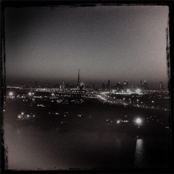 Dubai Skyline by georginho