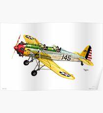 """RYAN PT-22 Trainer"" Poster"