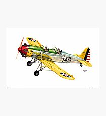 """RYAN PT-22 Trainer"" Photographic Print"