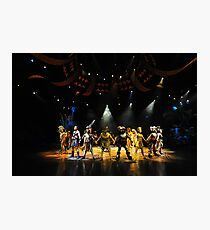 A Scene From The Lion King Show. Disneyland, Hong Kong. Photographic Print