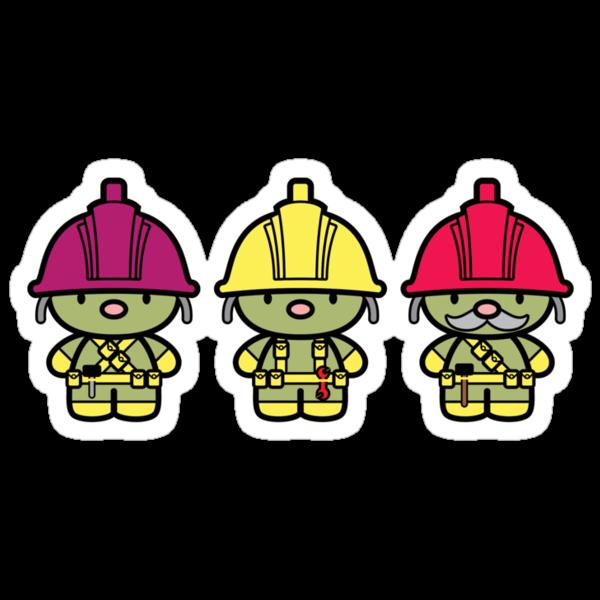 Chibi-Fi Doozers by Eozen