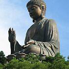 Po Lin Buddha by IslandImages