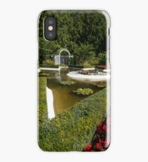 Star Pond, Butchart Gardens iPhone Case/Skin