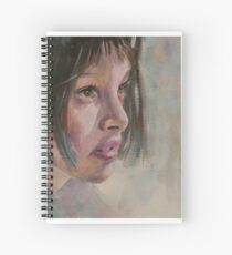 Matilda - Leon - The Professional - Natalie Portman Spiral Notebook