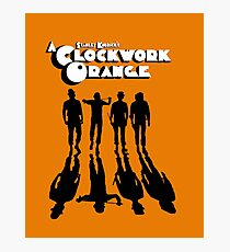 A Clockwork Orange Shadows Photographic Print