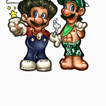 Mario VS Jersey Shore by TimShumate