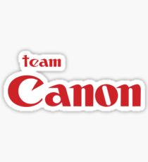 Team Canon!  Sticker