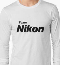 Camiseta de manga larga Equipo Nikon!