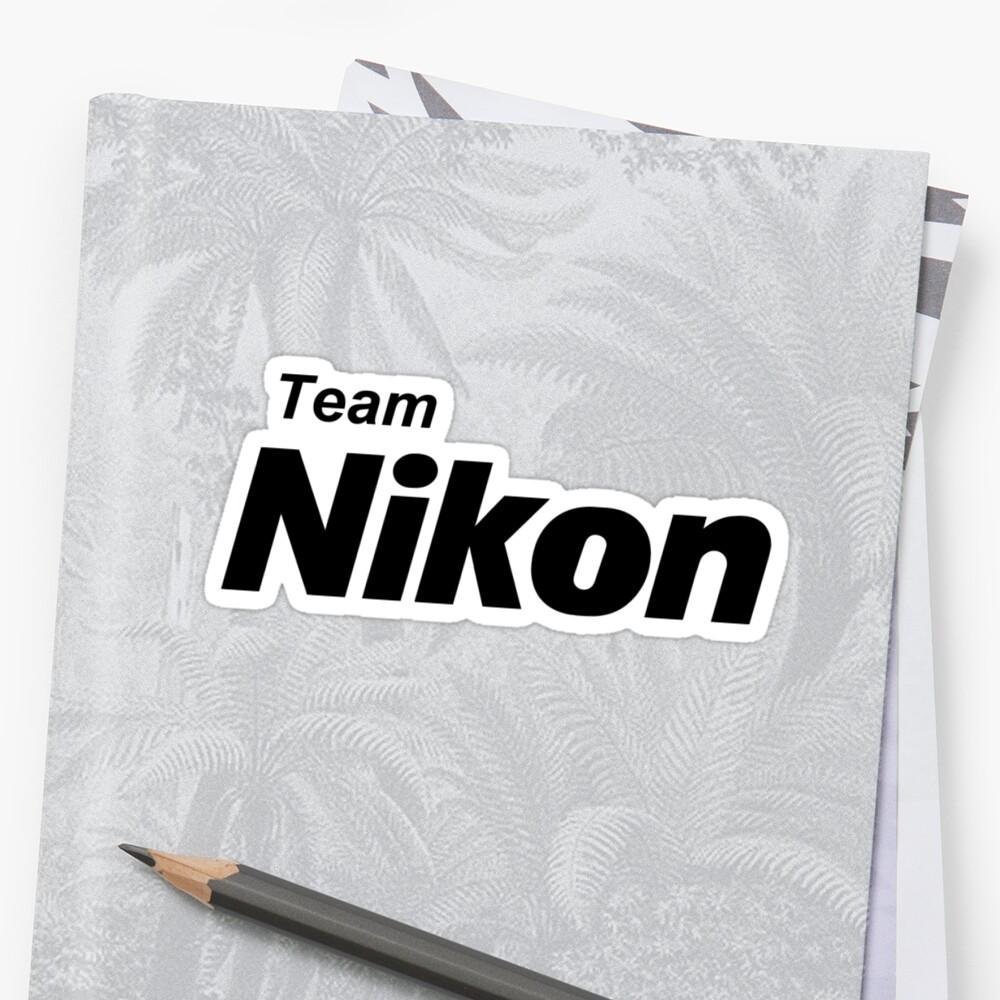 Team Nikon! by photoshirt