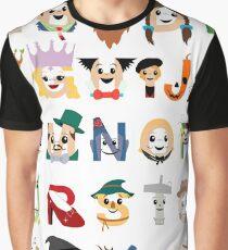 Oz-abet (an Oz Alphabet) Graphic T-Shirt