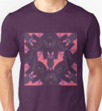 Bats Damask Wallpaper Unisex T-Shirt