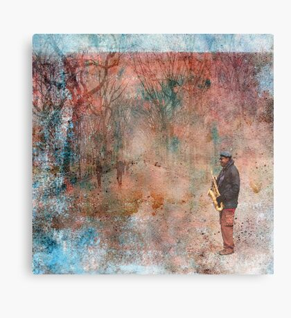 Christmas in Central Park Canvas Print