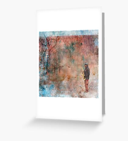 Christmas in Central Park Greeting Card