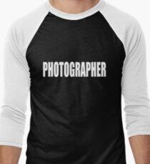 PHOTOGRAPHER - SECURITY STYLE! Men's Baseball ¾ T-Shirt
