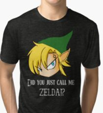 The Legend of Zelda The big mistake Tri-blend T-Shirt