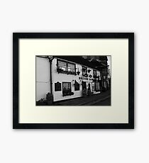 English Public House Framed Print