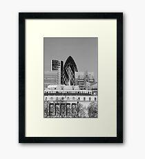 St Mary-Axe-London Framed Print