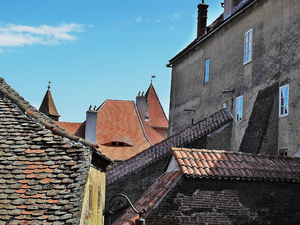 Old Walls New Tiles by ivDAnu