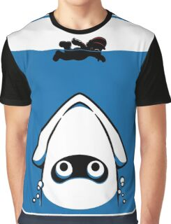 The Great White Blooper Graphic T-Shirt
